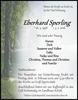 Eberhard Sperling