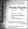 Frieda Paysen