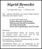 Sigrid Benecke