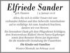 Elfriede Sander