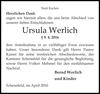 Ursula Werlich
