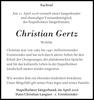 Christian Gertz