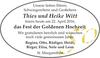 Thies und Heike Witt