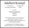 Adalbert Krampf