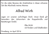 Alfred Wirth