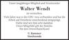 Walter Wendt