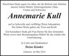 Annemarie Kull