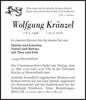 Wolfgang Kränzel