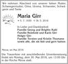 Maria Girr