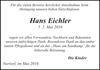 Hans Eichler