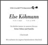 Else Köhmann