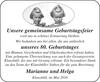 Geburtstagsfeier Geburtstages Marianne und Helga