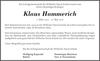 Klaus Hammerich