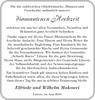 Elfriede und Wilhelm Makowei