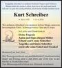 Kurt Schreiber