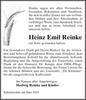 Heinz Emil Reinke