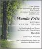 Wanda Fritz