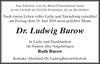 Dr. Ludwig Burow