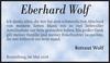 Eberhard Wolf