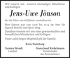 Jens-Uwe Jönson