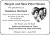 Margret und Hans Peter Hansen