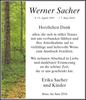 Werner Sacher