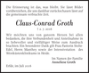 Claus-Conrad Groth