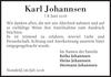 Karl Johannsen