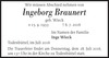 Ingeborg Braunert