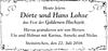 Dörte und Hans Lohse