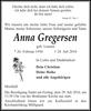 Anna Gregersen