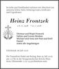 Heinz Frontzek