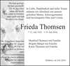 Frieda Thomson