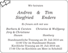 Andrea Tim Siegfried Enders