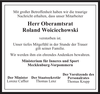 Oberamtsrat Roland Woiciechowski