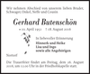 Gerhard Butenschön