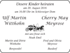 Ulf Martin Witthohn Cherry May Meyrose Kinder