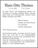 Hans Otto Thomas
