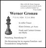 Werner Gronau
