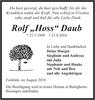 Rolf Hoss Daub