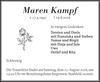 Maren Kampf