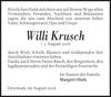 Willi Krusch