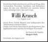 Willi Krusch