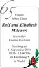 Rolf und Elisabeth Milchert