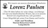 Lorenz Paulsen