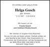 Helga Gosch