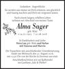 Alma Sager
