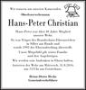 Hans-Peter Christian