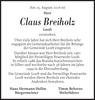 Claus Breiholz