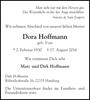 Dora Hoffmann